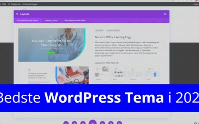 Opsætning af WordPress for Begyndere (Video Guide 2021)